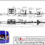 5L-30L olio lubrifikatzaile betetzeko linea automatikoa