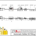 Olio jangarriak betetzeko linea automatikoa